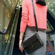 Luxury Brand Shoulder Bags For Women 2019 Black Ladies Handbags Leather Bags Vintage Purse Bag Leather Cross Body Messenger Bag