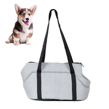 Pet-Carrier Dogs Grey Outdoor Fashion Backpack Sling-Bag Puppy-Cat-Bags Travel Kitten