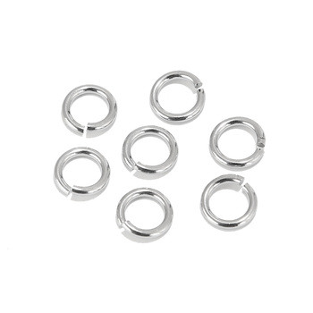 200pcs Stainless Steel Open Ring 3.5mm 4mm 5mm 6mm 7mm 8mm 9mm Jump Rings DIY Making Jewelry Connector Accessoires Findings - discount item  20% OFF Jewelry Making