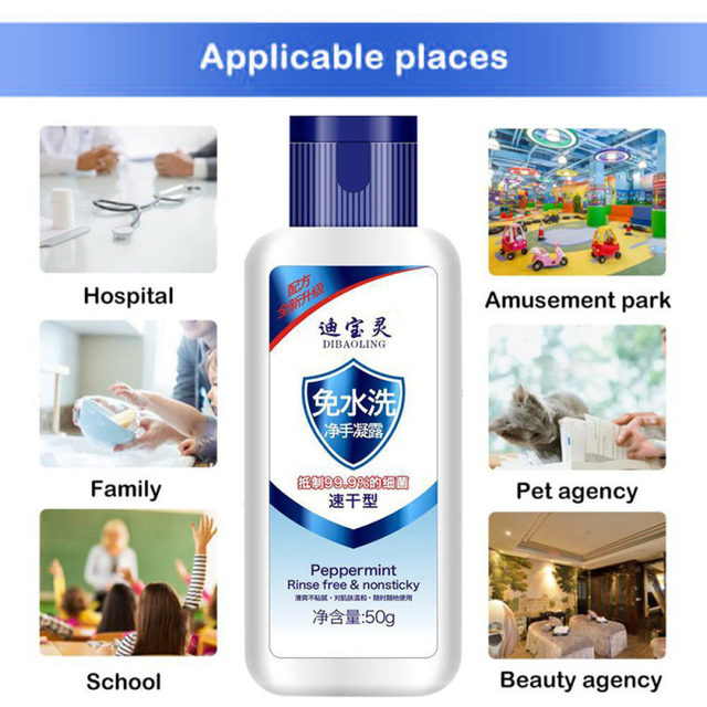 Household Disposable Hands-Free Water Gel Disinfection Hand Sanitizer Portable Spray Sterilization Disinfection Drop Shipping 5