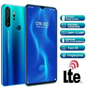 Image 2 - Smartphone Android 4G X23 Telefoni Cellulari Globale Versione Da 6.3 Pollici Dual Sim Versione Globale Sbloccato Il Telefono Mobile Dello Schermo di Goccia Dellacqua