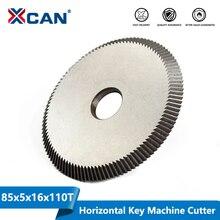 XCAN 1pc Schlüssel Schneiden Maschine Klinge 80x5x16mm 110T Schlüssel Maschine Cutter Schlüssel Maschine ersatzteile Schlosser Werkzeuge Kreissäge Klinge