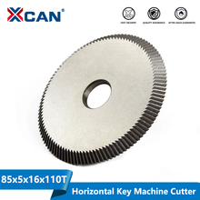 Xcan 1pcキー切断機の刃 80 × 5 × 16 ミリメートル 110tキーマシンカッターキーマシンスペア部品鍵屋ツール円形鋸刃