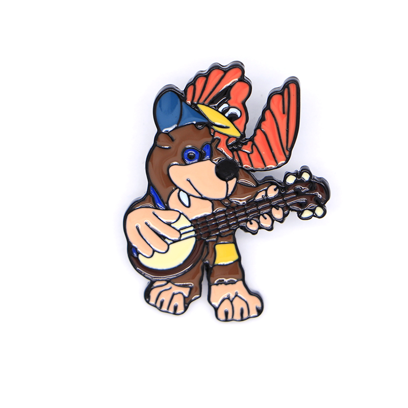 Banjo Kazooie Pins Video Game Enamel Pins Limited Edition Lapel Pin Bag Brooches Hat Badge Ins Backpack Decoration Brooch A161 image