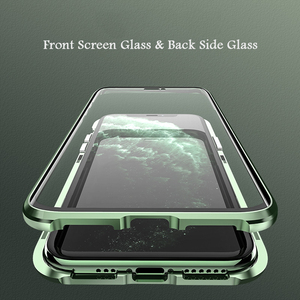 Image 4 - Original BOBYT Metall Fall Für Apple iPhone 11 Pro Max Klar Gehärtetem Glas & Aluminium Stoßstange Fall Abdeckung Für iPhone 11/ Pro/ Max