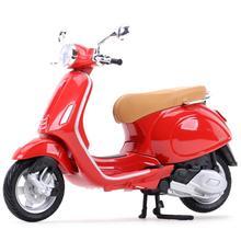 Maisto 1:12 Piaggio Vespa Primavera 150 статический Литой Транспортных средств Коллекционная хобби модель мотоцикла, игрушки