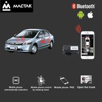Carro automático com controle de telefone móvel abrir o tronco keyentrada sem chave civ control * ios e android sistemas de controle l568