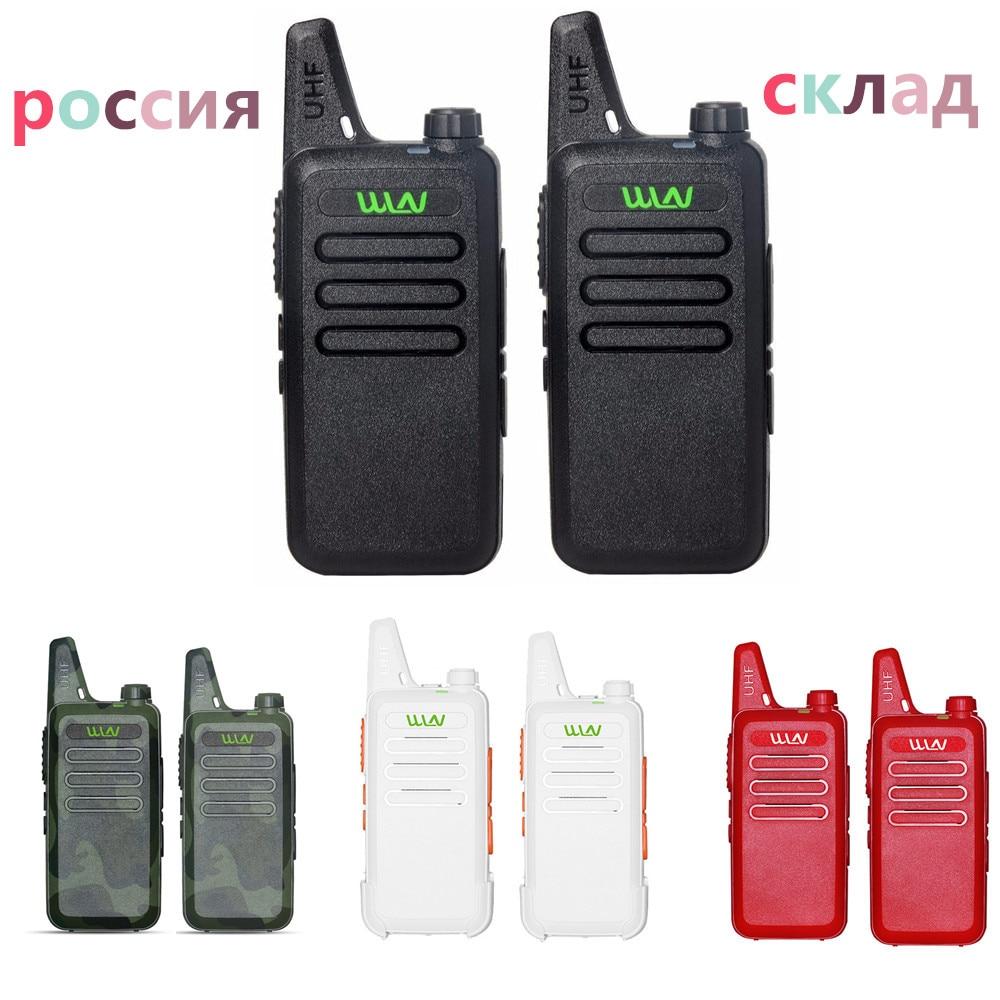 2 pces kdc1 mini handheld fm transceptor kd c1 rádio em dois sentidos presunto comunicador hf cb estação de rádio mi-ni walkie talkie wln KD-C1