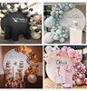 2M large circles backdrops for Wedding birthday baby shower T-stage decor flowers rack display stand for DIY outdoor lawn party