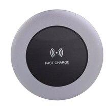 Портативное беспроводное зарядное устройство для мобильного телефона, быстрая зарядка, умное зарядное устройство с индикатором для телефона samsung