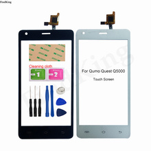 Touch Screen For Qumo Quest Q5000 Touch screen Digitizer Sensor Front Glass Touch Panel Replacement Part