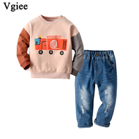 Vgiee Toddler Boy Clothes Winter Fall Kids Children Set for Baby Boys Outfits 11.11 Baby Set Christmas Outfit CC786