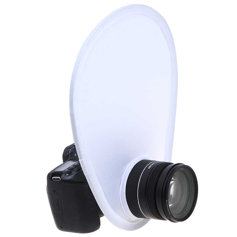 Photography Flash Lens Diffuser Reflector Flash Diffuser Softbox For Canon for Nikon for Sony for Olympus DSLR Camera Lenses