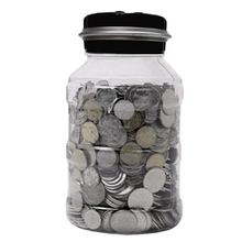 цены Digital Counter Piggy Bank Coin Electronic LCD Display Counting Money Saving Box Jar Coins Storage Box for USD EURO Kids Gift