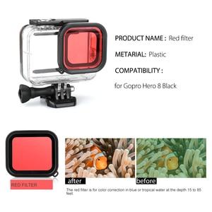 Image 5 - Vamson for Go Pro Hero 8 Black Camera Waterproof Housing Case for GoPro Accessories Kit Monopod Mount for GoPro 8 Black VS25