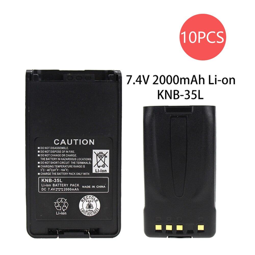 10X KNB-35L Battery(s) For Kenwood TK2140 TK2170 TK3140 TK3170 TK-3160 2-Way Radio