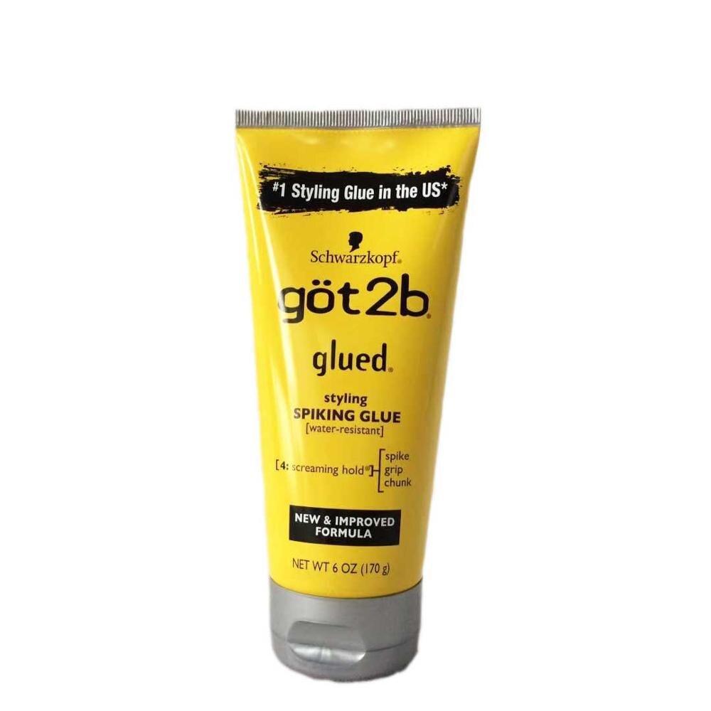 got 2b spray human hair styling gel got2b spray glued 12 oz / 6 oz Freeze Spray Ultra Glued Invincible Styling Hair Gel 1.25oz 3