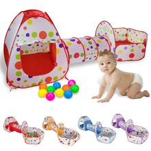 Children's Tent Tunnel-Ball IMBABY Kids Play Outdoor SHELTER Pool Wigwam Crawling Basketball