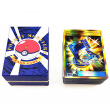 цена на Pokemon Games For Children Anime Battle Gx Ex Mega Trading Card Set Charizard Pikachu Collection Action Figure Model Toy Gift