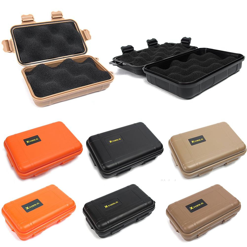 Small / Large Size Portable Waterproof Shockproof Outdoor Airtight Storage Case Survival Tool Container Anti Pressure Carry Box