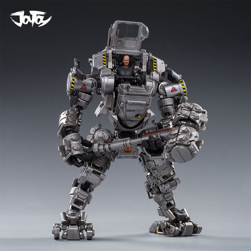 2pcs/lot 2020 NEW JOYTOY 1/25 Action Figure Robot  Steel Bone Armor Sliver Mecha Collection Model Toys Free Shipping