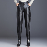 PU Leather High Waist Pants Women Sexy Hip Fashion Autumn Winter Pencil Pants Legging Jegging Trousers Women Pantalon Femme 2019