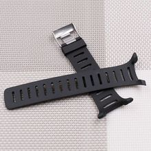 Soft Soft Rubber Watch Band Metal Buckle Wrist Strap with Screwdrivers for SUUNTO T1 T1C T3 T3C T3D T4C T4D T Series Smart Watch