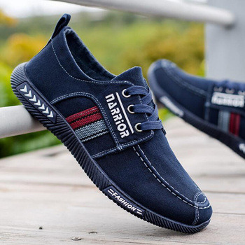 Men shoes 2021 spring men canvas shoes flat casual shoes lace up comfortable breathable shoes man flats size 39-44 4