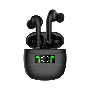 Беспроводная Bluetooth-гарнитура J3 Pro TWS, спортивные наушники с сенсорным управлением, Bluetooth 5,2 дюйма, светодиодный дисплей, наушники PK i9000 i90000 i500