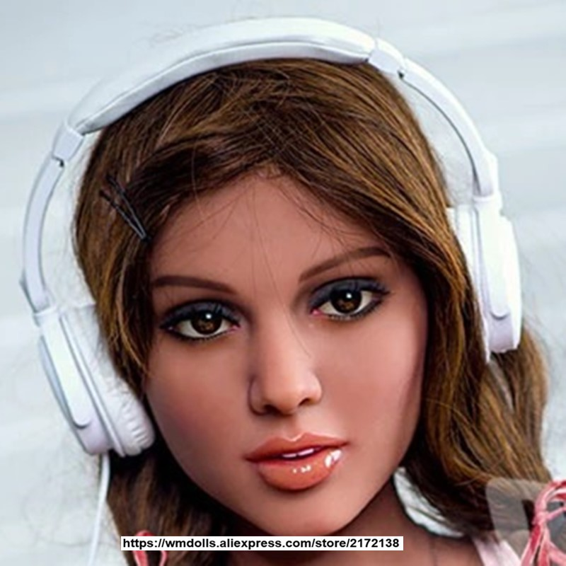 WMDOLL Realistic <font><b>Sex</b></font> <font><b>Doll</b></font> Head For Men Oral Heads Can Fit For 140cm To <font><b>175cm</b></font> Full Size <font><b>Dolls</b></font> image