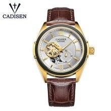 CADISEN Men Watch Automatic Mechanical Role Date Luminous Fashione luxury Brand Waterproof Clock Male Hombre Relogio Masculino недорого