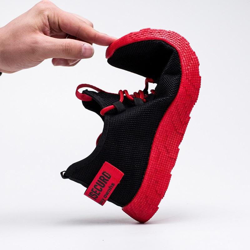 Men Sneakers 2019 New Breathable Lace Up Men Mesh Shoes Fashion Casual No-slip Men Vulcanize Shoes  Tenis Masculino 4
