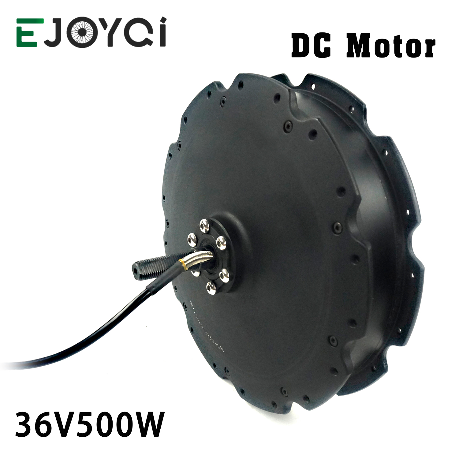 EJOYQI DC Hub Motor 36V 48V 500W Rear Rotate Motor High Speed Brushless Non Gear DC Motor for Electric Bicycle Conversion Kit