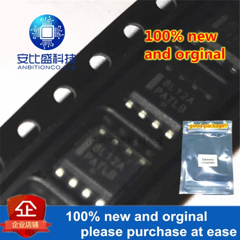 10pcs 100% New And Orginal MC78L12ABDR2G MC78L12A Silk-screen 8L12A SOIC8 In Stock