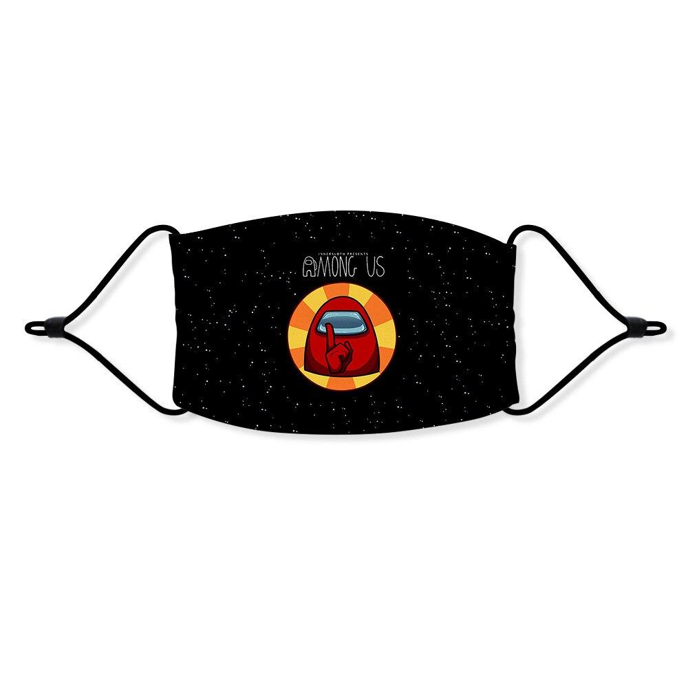 Горячая игра Косплей Аниме маски среди США Plushie маски мягкий респиратор анти пыль защитные маски среди США игровые маски для лица|Игровые фигурки и трансформеры|   | АлиЭкспресс