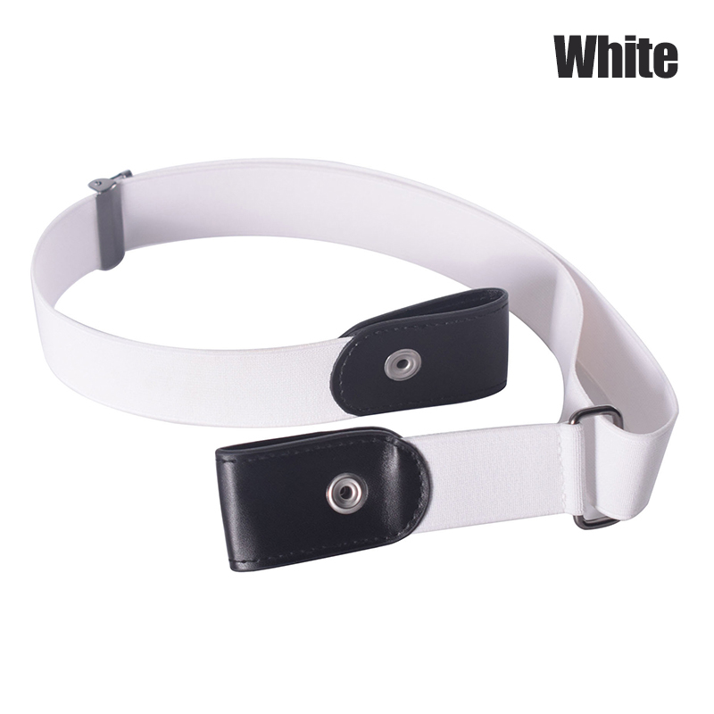 Buckle Free Stretchable Lazy Belt Elastic Waist Belt Invisible For Jeans Pant Dress B99