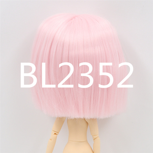 Image 4 - blyth doll icy doll rbl scalp and dome short hair wig toy accessory for DIY custom doll