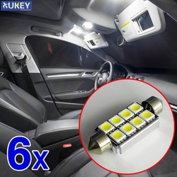 12v Canbus Error Free Led 39mm SMD C5W C10W SV8.5 Automobiles Car Led Light No Polarity Car Interior Lights License Plate Lamp
