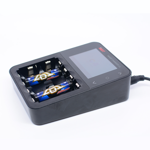 Image 3 - 원래 ISDT C4 8A 터치 스크린 스마트 배터리 충전기 화면 USB 출력 18650 26650 AA AAA 배터리 RC 모드