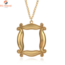 2019 Fashion Friends Necklace Gold Personality Frame Pendant For Man Woman Jewelry Gift for Children