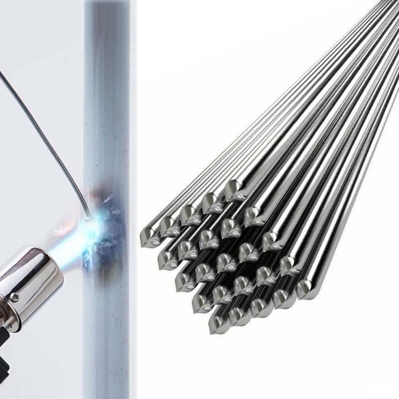 Легкий расплав Fux-cored алюминиевые сварочные стержни пайки сварочный провод для алюминиевой пайки не нужен порошковый припой низкой темпера...