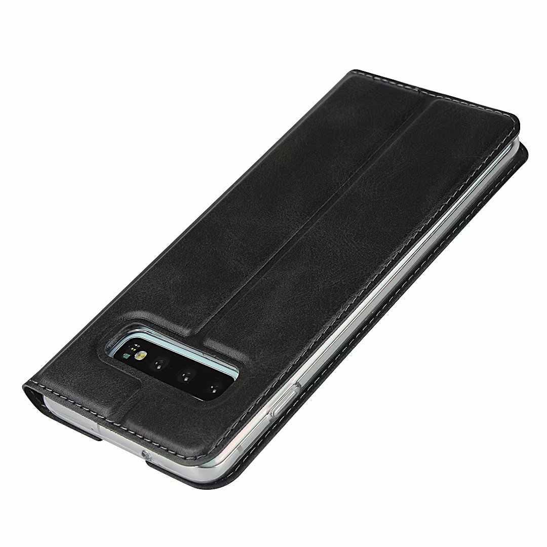 Премиум кожаный флип чехол для samsung Galaxy S10 Plus 5G S10e ультратонкий Магнитный адсорбционный чехол бизнес