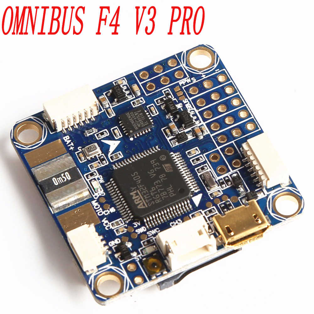 F4 Betaflight F4 Pro V3 Flight Controller Board Built-In OSD Barometer untuk FPV Quadcopter