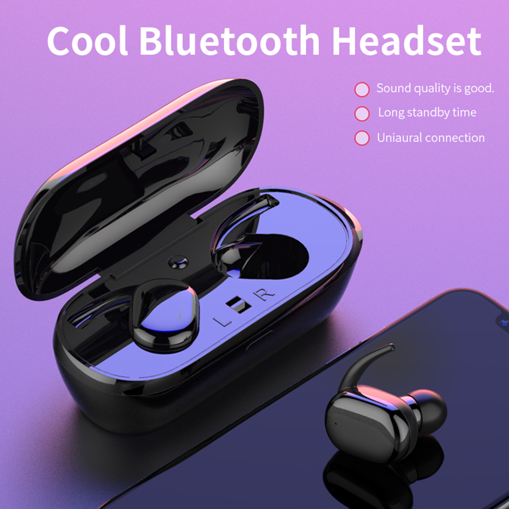 Cheap Drop shipping TWS bluetooth earphone headphones fone de ouvido bluetooth wireless earphones PK f9 TWS earbuds headset image