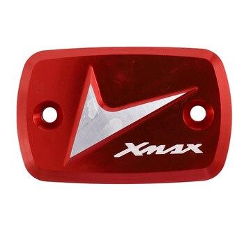 Bremse Oberen Pumpe Abdeckung Anwendbar für Yamaha Xmax300 250 400 2017-2018 Universal Geändert Öl Topf auf die Pumpe abdeckung (Rot)