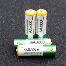 Batterie Rechargeable de Nimh de cellules de Ni-MH de Charge de pré/séjour de BTY 1.2V AA 3000 MAh AA LR6 HR6 3000 mAh pour des télécommandes de torche