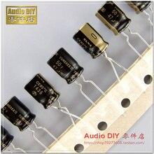 10 шт. ELNA TONEREX II 47 мкФ/50 в 8X11,5 мм ROB 47 мкФ 50 в тюнер аудио конденсатор Черное золото TONEREX2 50V47UF