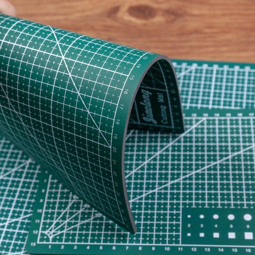 3ミリメートル厚さA3/a4 pvcカッティングマットパッドパッチワークパッドパッチワークツールマニュアルdiyツール切断ボード両面