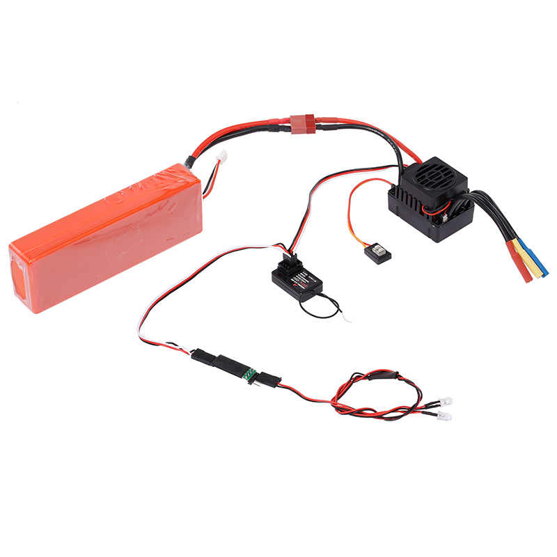 LED Lamp Light Control Switch Panel System Turn On//Off 3CH for Traxxas RC Z7Y4