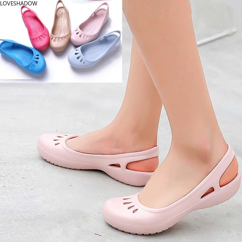 Women EVA Clog Medical Shoes Chef Hospital Workwear Anti-slip Sandals Nursing Clogs Surgical Slipper